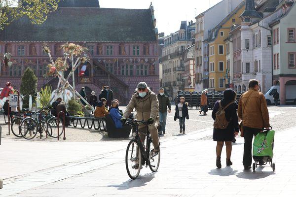 La ville de Mulhouse est en ce moment le théâtre de l'enregistrement d'un long métrage, le Principal de Chad Chenouga