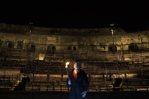 """""""Les nuits de Nemaus"""", spectacle nocturne aux arènes de Nîmes (Gard) se déroule jusqu'au 13 août."""