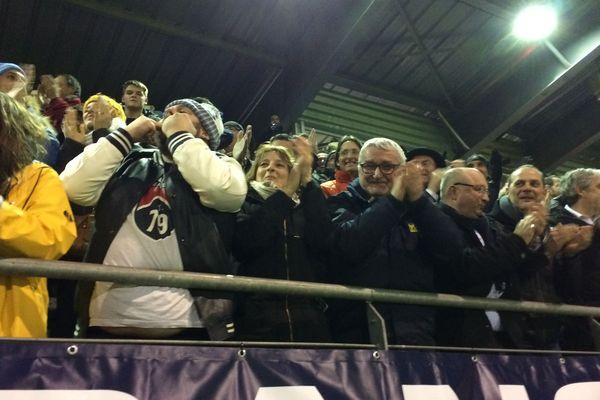 Plus de 3500 supporters étaient présents au stade d'Hector-Roland, samedi 6 janvier, pour la rencontre Moulins-Yzeure face à l'AS Monaco.