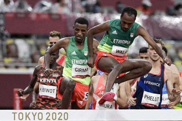Alexis Phelut, à droite en bleu, a fini 12e de sa finale olympique des JO de Tokyo.