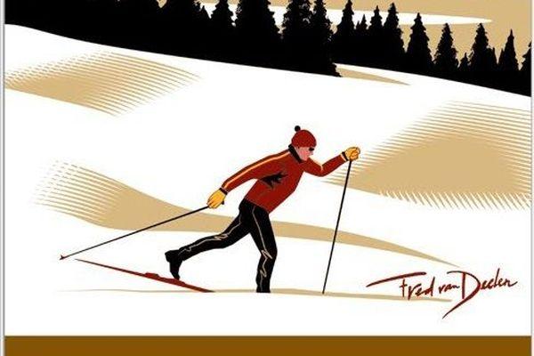 Les étendues des montagnes du Jura sont notamment propices au ski de fond.