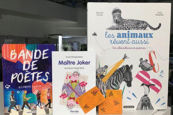 3 livres pour une rentrée poétique et fantaisiste
