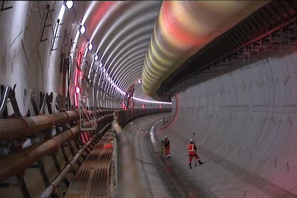 Tunnel LGV entre la plaine d'Alsace et le plateau lorrain