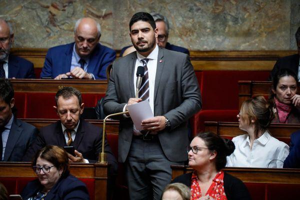 Guillaume Kasbarian à l'Assemblée Nationale