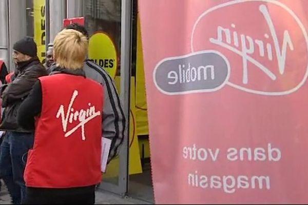 Devant Virgin à Montpellier