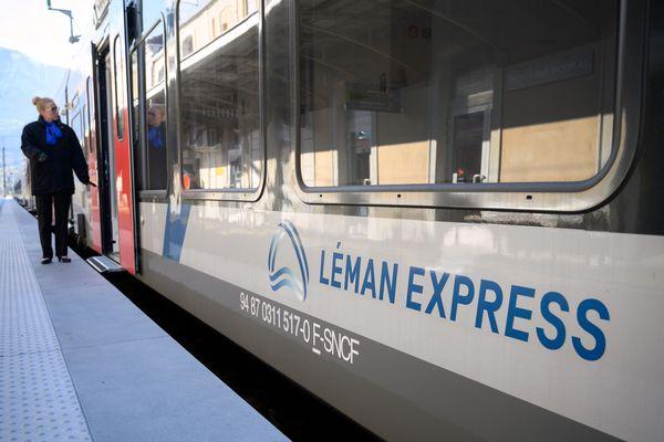 Le trafic du Léman Express est perturbé à cause de la grève contre la réforme des retraites en France.