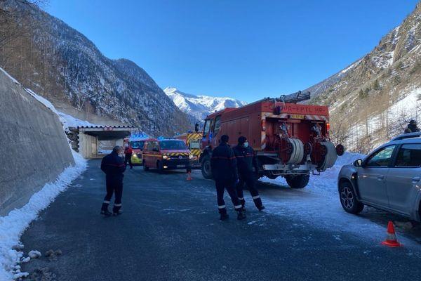 Un important dispositif de recherche a été déployé sur la station de sports d'hiver d'Isola 2000.