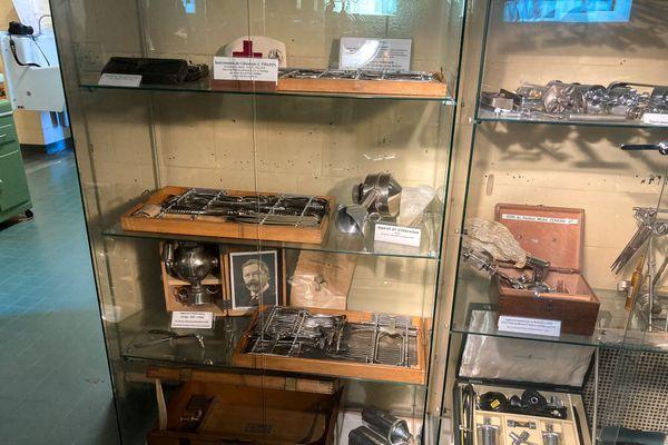 Du matériel chirurgical du XIXe siècle sauvegardé de l'oubli
