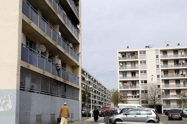 La cité Félix Pyat à Marseille