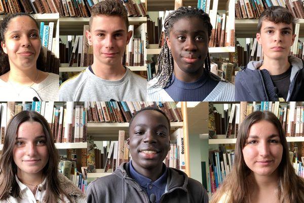 Les lycéens de La Réole en Gironde nous livrent leur perception de l'info.