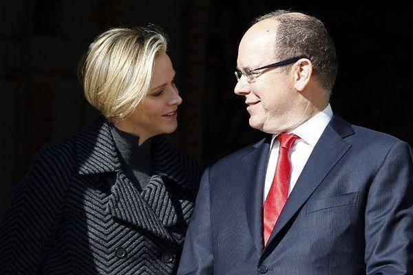 Le couple princier en janvier dernier.