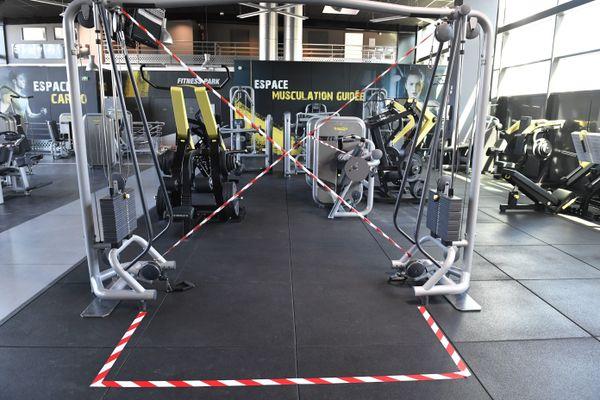 Les salles de sport resteront vides à Lille.