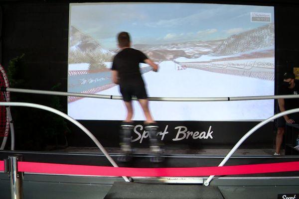 le simulateur de ski unique en France