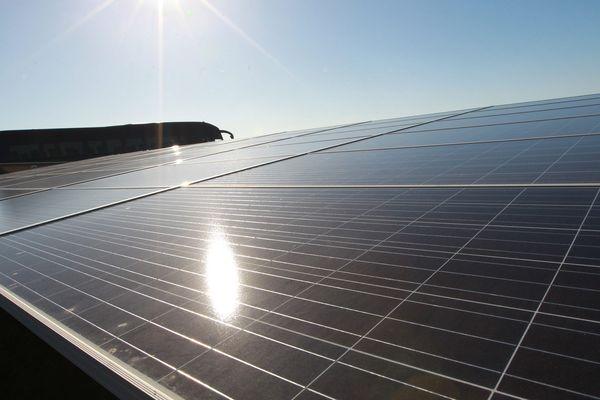 La plus grande centrale photovoltaïque d'Europe, dans le sud-ouest de la France (Archives)