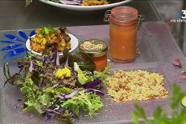 A Ajaccio, de nombreuses cartes de restaurants proposent du vegan pour satisfaire une demande croissante.