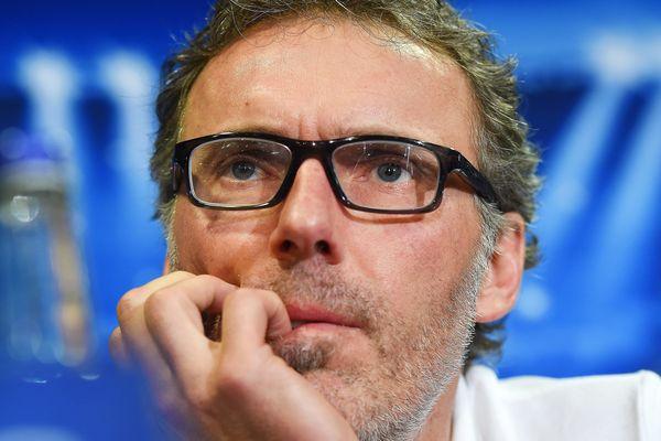 Laurent Blanc en conférence de presse