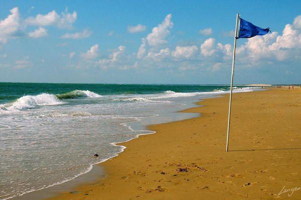La plage de La Tremblade, en Charente-Maritime