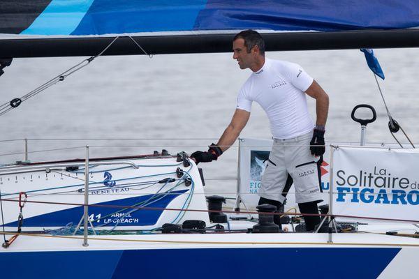 Le navigateur Armel Le Cléac'h