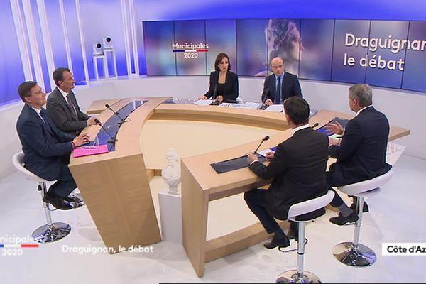 Municipales 2020 : débat à Draguignan, présenté par Nathalie Layani et Henri Migout