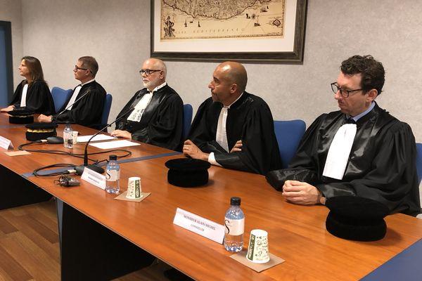 À Bastia, la chambre régionale des comptes a tenu son audience solennelle de rentrée ce vendredi 25 octobre.