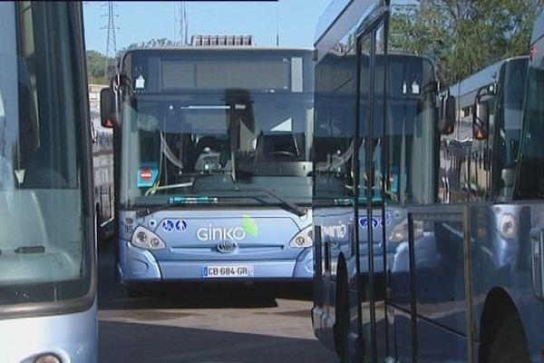 Illustration des bus Ginko à Besançon. (Image d'archive)