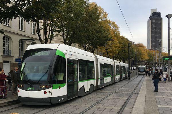La ligne 3 du tramway à Nantes