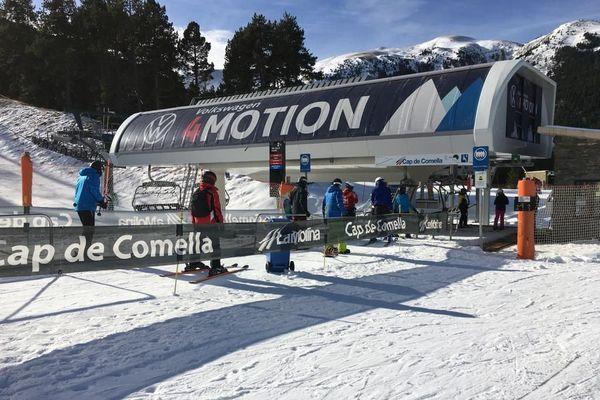 Les stations de ski catalanes  en Espagne ont rouvert ce lundi 14 décembre