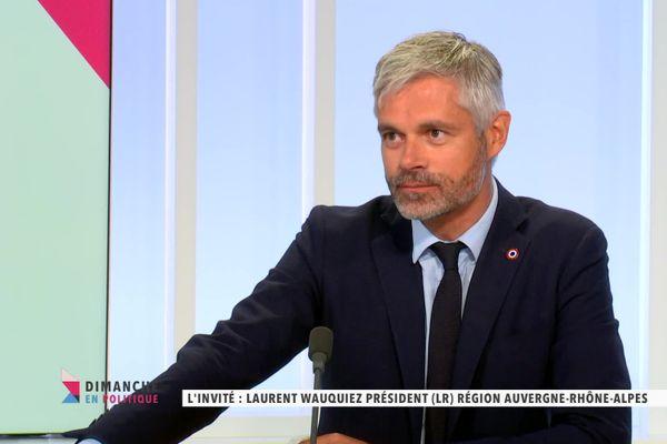 Laurent Wauquiez, invité de Dimanche en Politique - 8 NOVEMBRE 2020