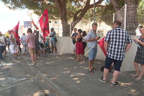 Perpignan - rassemblement des enseignants - 24 juin 2020.