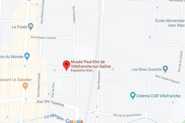 Le musée municipal Paul-Dini, situé au 2 place Faubert 69400 à Villefranche S/Saône vous invite à des visites virtuelles.