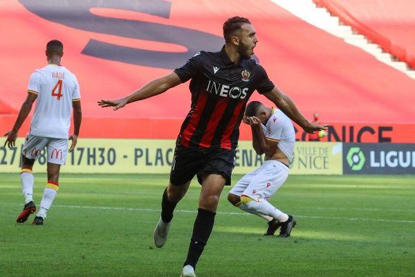 Football - Ligue : la nouvelle recrue Amine Gouiri offre la victoire à Nice avec ses deux premiers buts en Ligue 1.