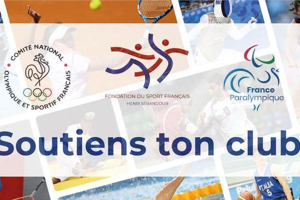 Le ministère des sports, la fondation du sport, le comité national olympique et l'agence nationale du sport, en partenariat avec les associations des collectivités locales, lancent le mouvement « soutien ton club ».