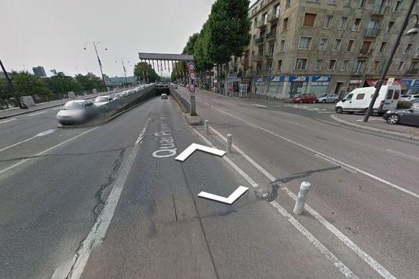 La trémie du pont Corneille à Rouen est fermée jusqu'au 15 août, pour travaux