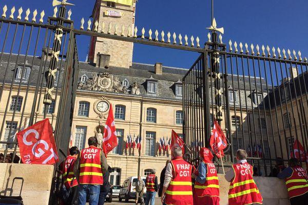 La manifestation est à l'appel de la CGT.