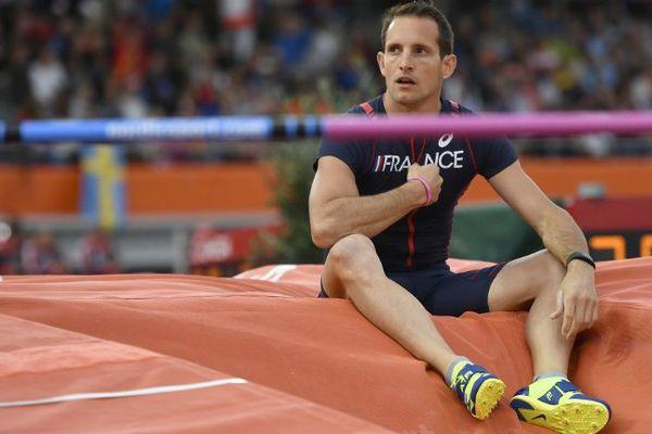 Renaud Lavillenie n'a passé aucune barre lors de ces championnats d'Europe d'athlétisme à Amsterdam.