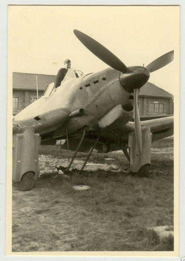 Une rare photo d'un Loire-Nieuport LN 411.