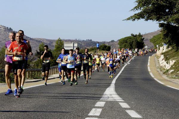 38e édition de la course Marseille - Cassis en 2016.