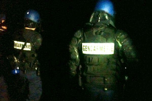 La gendarmerie intervient en ce moment même à Notre-Dame-des-Landes
