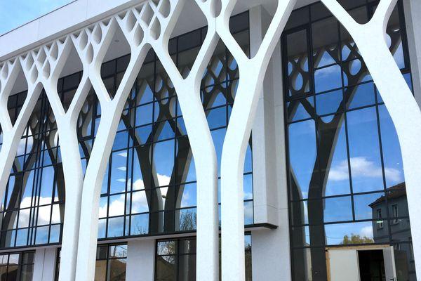 Le chantier du centre Annour à Mulhouse entre dans sa dernière ligne droite. Il sera l'aboutissement d'un projet étalé sur une dizaine d'années.