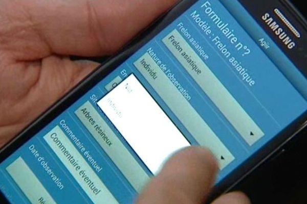L'INRA vient de présenter une application téléphonique qu'elle a créé pour collecter de l'information sur les frelons asiatiques. Le frelon asiatique est au centre de l'intérêt des chercheurs en agronomie.