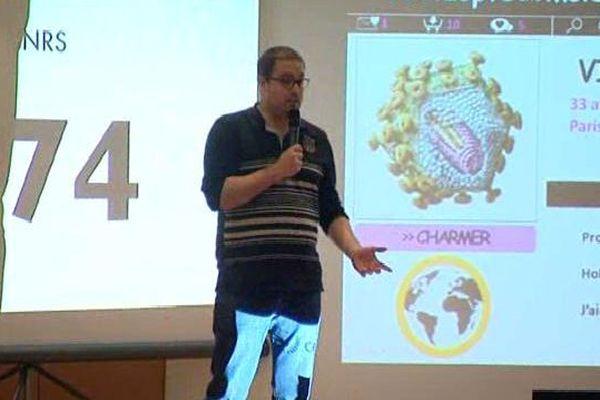 Manuel Pirès remporte le 2è prix du jury et le 1er prix du public avec sa thèse sur les nouveaux traitements anti VIH