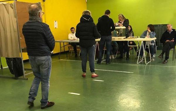Bureau de vote à Saint-Barnabé, 12e arrondissement
