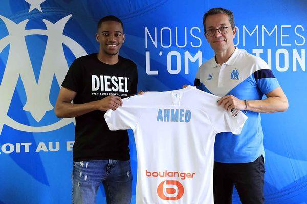 Nassim Ahmed signe un contrat de trois ans à l'Olympique de Marseille