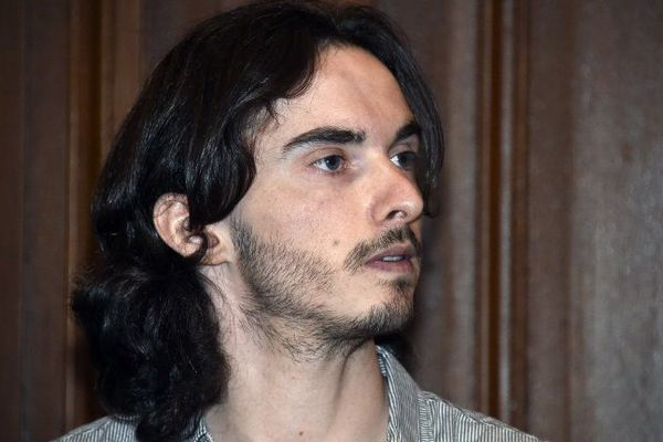 Gérald Seureau le premier jour de son procès à Montpellier - 2014