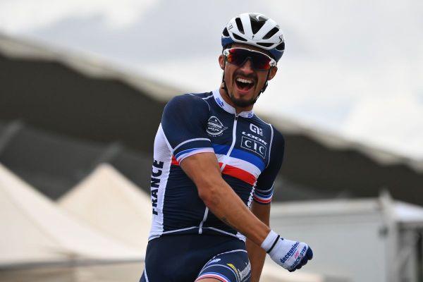 Dimanche 27 septembre, à Imola, en Italie, Julian Alaphilippe a été sacré champion du monde de cyclisme.