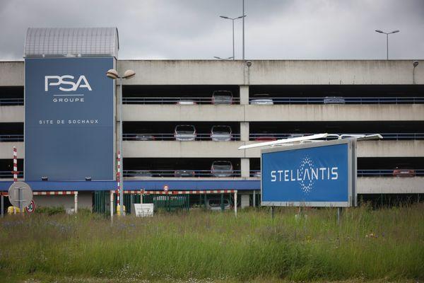 L'usine Stellantis à Sochaux