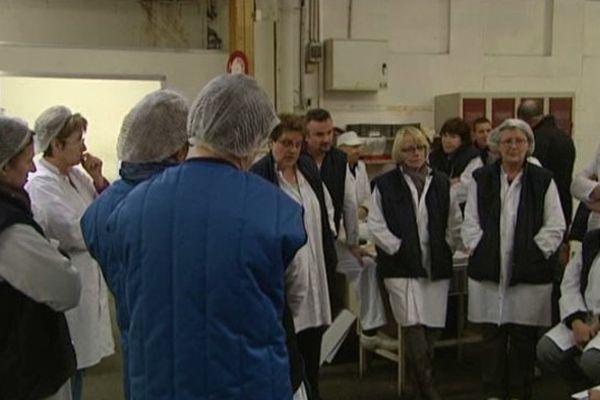 Les salariés, en congé forcé, sont présents chaque jour dans les locaux de la biscuiterie Jeannette