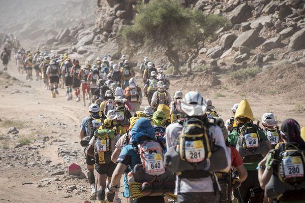 Plus d'un millier de coureurs participent jusqu'au 16 avril au Marathon des Sables