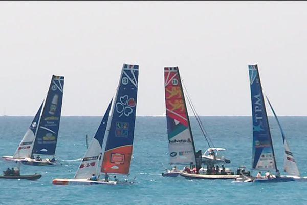Cet après-midi, au large de Nice, ultime étape de la compétition.
