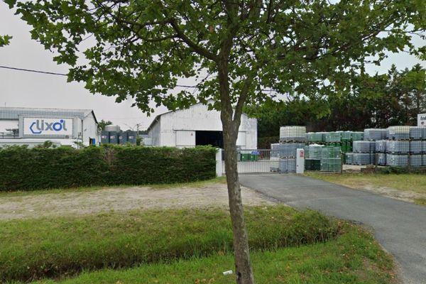 L'usine de résine Lixol, à La Teste de Buch, produit des résines destinées à l'industrie de la peinture, du bâtiment, du traitement des bois et des encres.